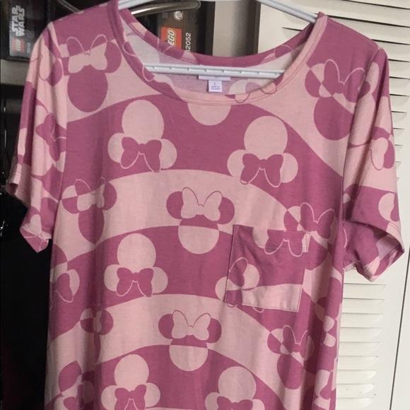 Lg Lularoe Disney Carly EUC